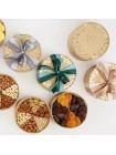 Подарочная круглая коробка орехов на заказ Nuts Box Premium Custom