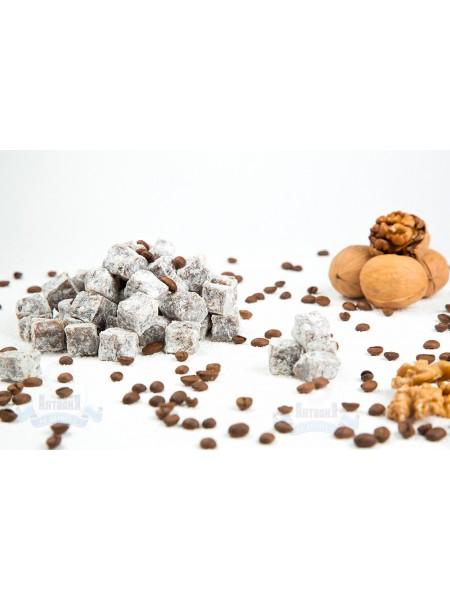 Лукум кофейный с грецким орехом двойной обжарки 200гр