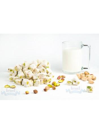 Лукум молочный с фисташками двойной обжарки Анталия