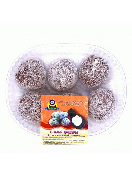 Джезерье атом в кокосовой стружке 200гр