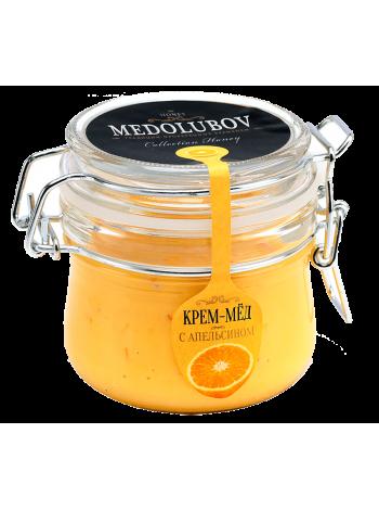Крем-мёд Медолюбов с апельсином (бугель)