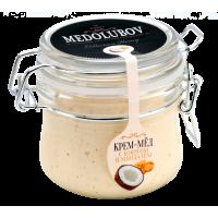 Крем-мёд Медолюбов кокос с миндалем (бугель) 250 мл