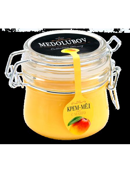 Крем-мёд Медолюбов с манго (бугель) 250мл