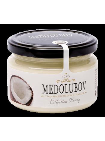 Крем-мёд Медолюбов с кокосом 250мл