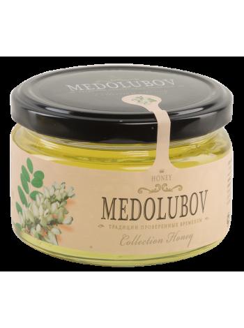 Мёд Медолюбов белая акация 250мл
