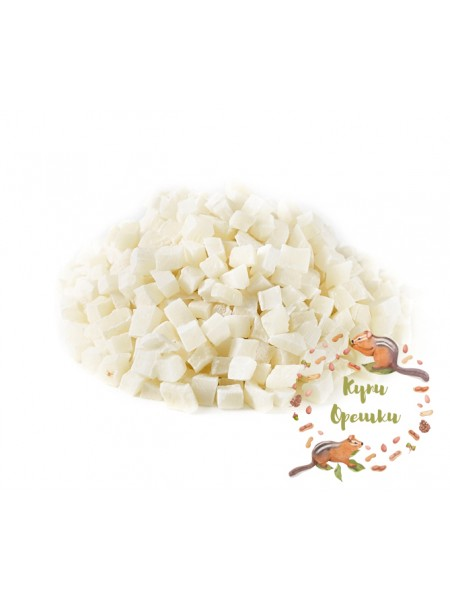 Кокосовые кубики цукат