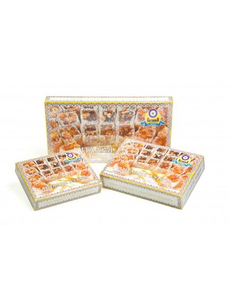 Лукум «Падишах» с орехами (упаковка 450гр)