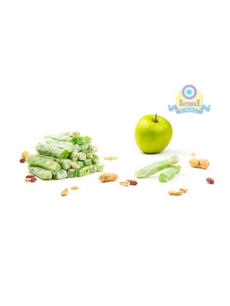 Лукум Пальчики яблочные с арахисом (новинка) 200гр