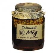 Таежный мед с кедровыми орехами