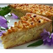 Вкусный и питательный торт с кедровыми орехами