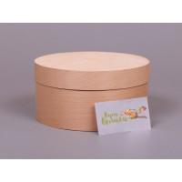 Подарочная круглая коробка из шпона Nuts Box